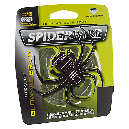 Multifilamento Spiderwire Glow-vis 0,12 mm 137 Mts