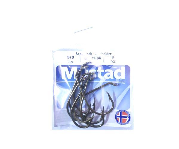 Anzuelos 92641-BR Nro 5/0 * 8 Unidades Mustad
