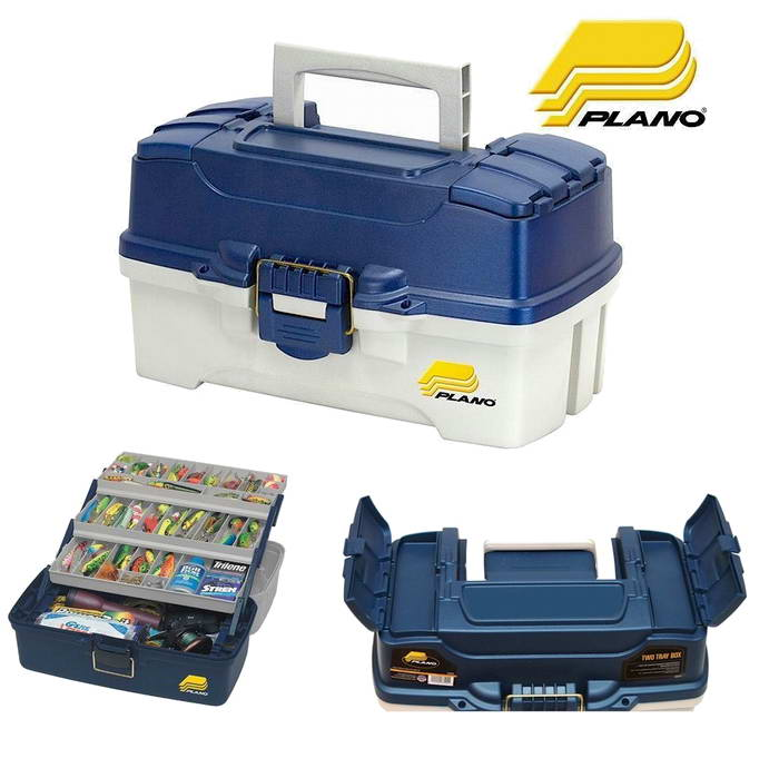 Caja de Pesca Plano Two Tray Boxes