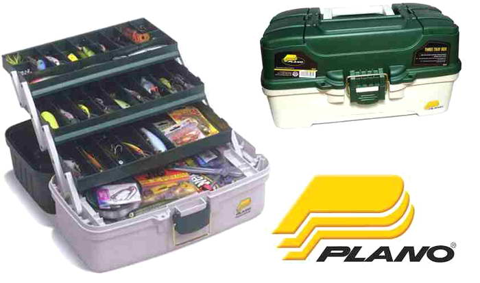 Caja de Pesca Plano Three Tray Tackle Box