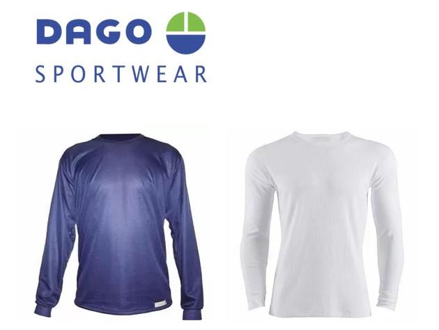Camiseta térmica DAGO - Tela Hidrowick Respirable