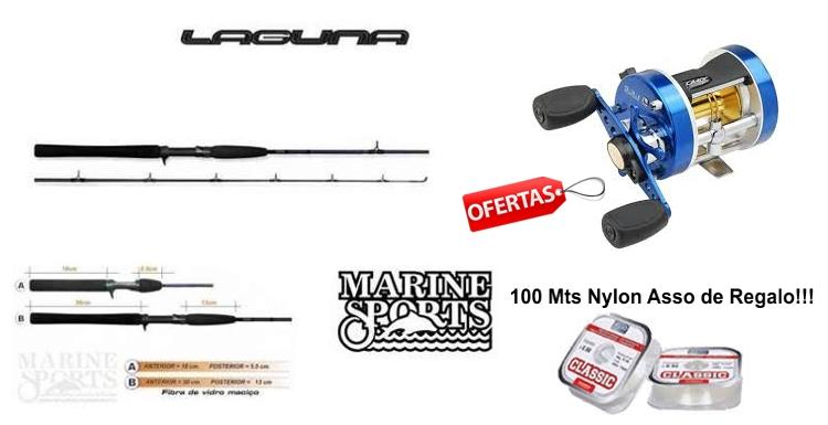Combo Pesca Variada Caster - Laguna Marine Sports