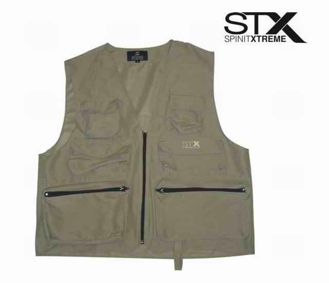 Chaleco de Pesca Spinit Basic STX Talle L
