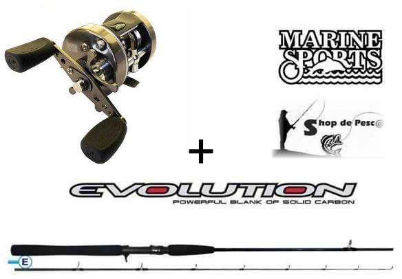 Combo 2 para Pesca Embarcada / Trolling Caster 400 P Evolution 2