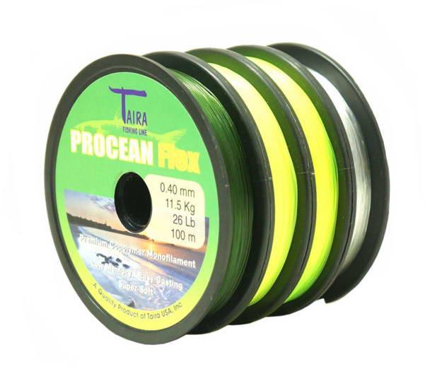 Nylon Taira Procean Flex 0,50 mm. * 100 Mts