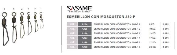 Mosqueton con Esmerillón Rápido Sasame 280-P N°5