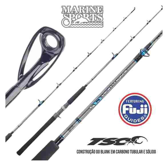 Caña Marine Sports Evolution GT2 MS-S 661H 20-60 Lbs