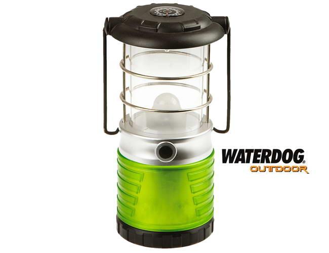 Farol de Camping - 3xD - 1 LED Verde Intermitente