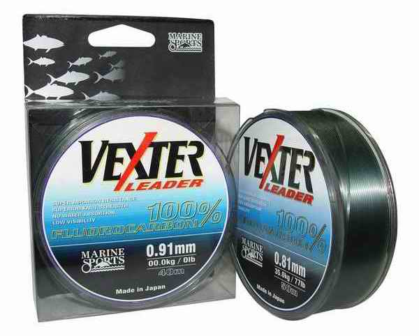 Fluorocarbon Vexter 91 Lbs / 41.00 Kgs - 0,91 mm - Cantidad: 50