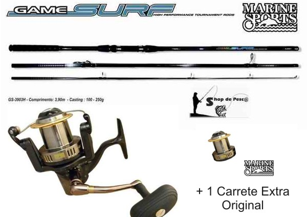 Combo Lance de Costa Marine Sports Game Surf 420 Orion Plus 5000