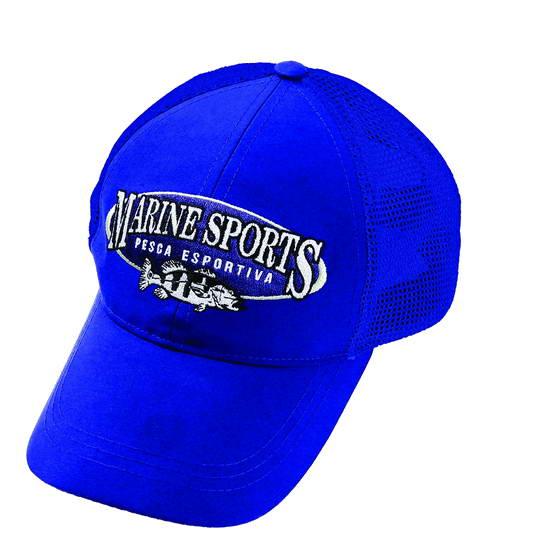 Gorra de Pesca Azul Marine Sports