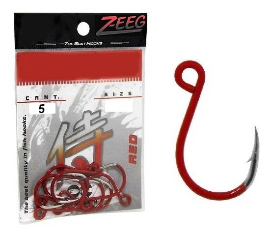 Anzuelos Inline Red Nro 2/0 (Blister 5 Unidades)