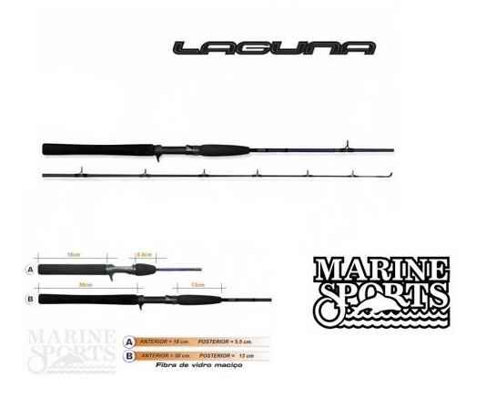 Marine Laguna LA-C601M 10-25LB (1,83 Mts) - 1 tramo