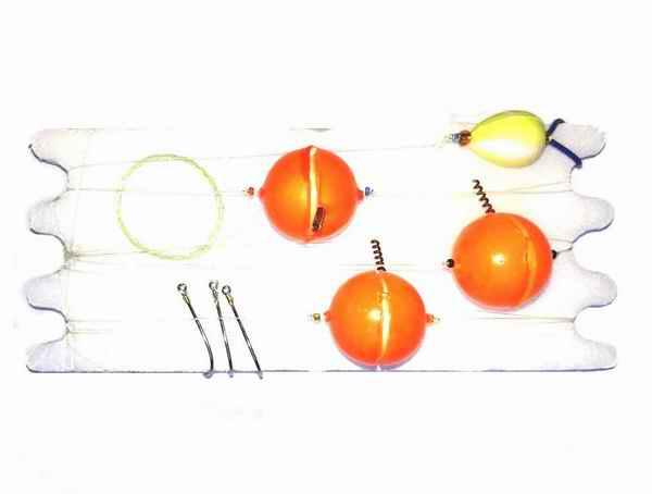 Linea Pejerrey Economica 3 Boyas Yo-Yo 15 mm