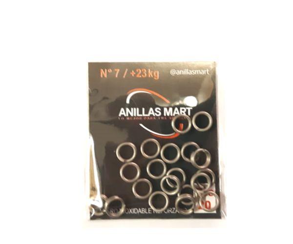Anillas Nro 7 (7,5 mm) / + 23 Kg * 20 Unid Mart
