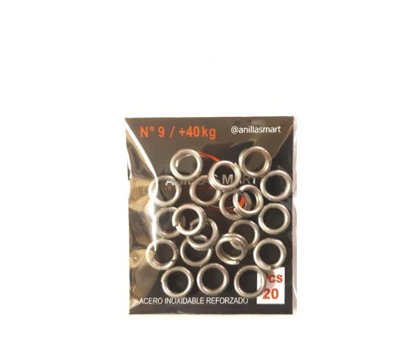 Anillas Nro 9 (9,25 mm) / + 40 Kg * 20 Unid Mart