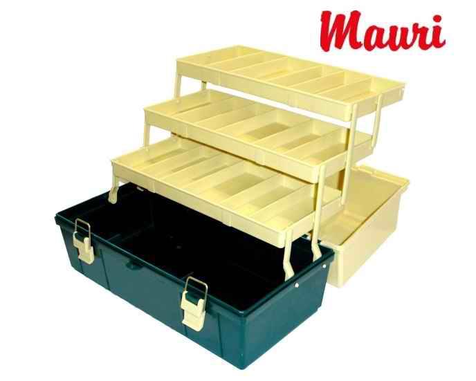 Caja de Pesca Mauri 430 RS - Tres bandejas