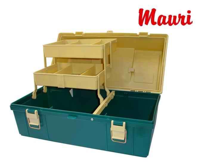 Caja de Pesca Mauri 430 S - 2 Medias  bandejas