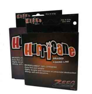 Multifilamento Hurricane Z-EEG  30 Lbs, 0,18 mm - 100 Mts - A-4S