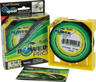Multifilamento Power Pro 15 lbs 0,19 mm - 150 Yds Rojo SHIMANO