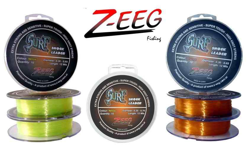 Shock Leader Surf Z-EEG (Salidas Cónicas) 10 Un de 0.30-0.65 Ama