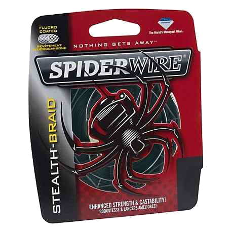 Multifilamento Spiderwire Stealth 0,20 mm 30 Lbs - 270 mts