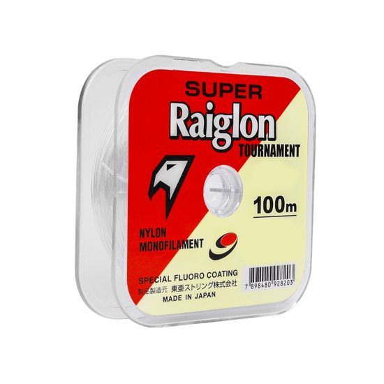 Nylon Super Raiglon Tournamet 4.0 0,330 mm 100 Mts Fluorocarbona