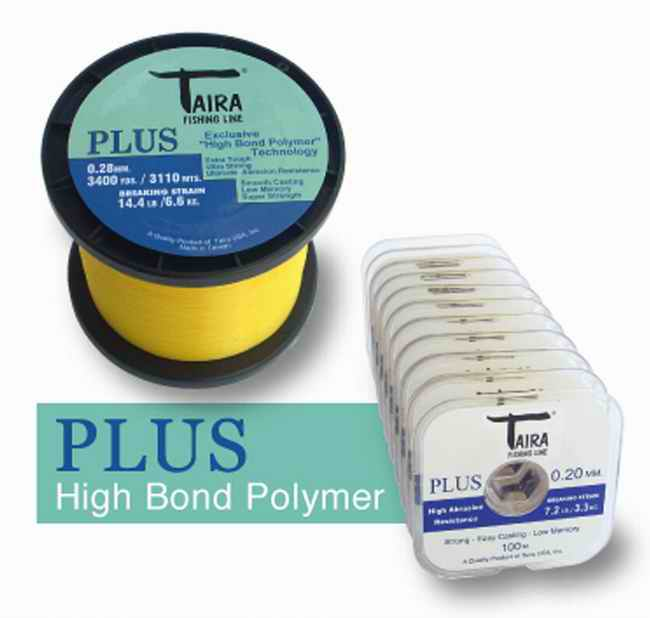 Nylon Taira Plus 0.25 mm 227 Grs 3905 Mts