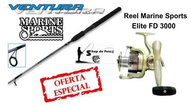 Combo para Pesca Variada y Spinning Ventura Elite